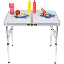 New Folding Table Portable Outdoor Picnic Party Dining Camp Tables Picnic Table