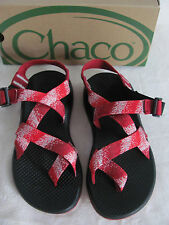 Chaco Z2 Yampa Spitit RXW Toe Loop Sport Sandals-Vibram-Rouge Red-Women Size 5