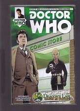 TITAN COMIC BBC DOCTOR WHO #1 10th 11th DR DRAGONS LAIR COMICS EXCLUSIVE VARIANT