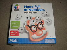 New Factory Sealed Learning Resources Head Full of Numbers Math Game Grade 2 +