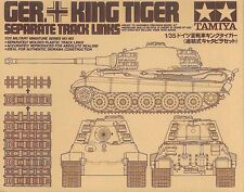Tamiya WWII German King Tiger Tank Separate Track Link Set  Model kit 1/35