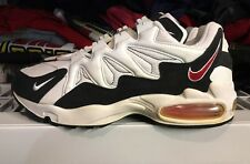 Vintage Nike Air Max Tailwind 1996 White Blk Red Ds 11.5