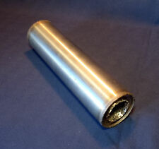 """57mm bore (2¼"""") 3"""" Round x 14"""" Long Universal Stainless steel exhaust silencer"""