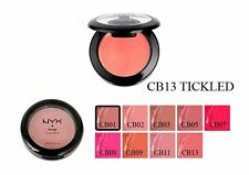 NYX Blush CB13 TICKLED Rouge Cream new face makeup Shimmering Peachy Pink