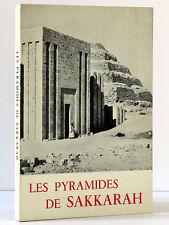Les Pyramides de Sakkarah J.-Philippe LAUER Le Caire 1978 Archéologie orientale
