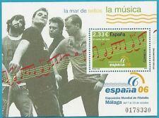 Spanien aus 2006 ** postfrisch Block 155 MiNr.4168 - Spanische Musik, ESPANA 06!
