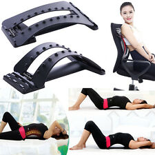 Lumbar Support Back Massage Magic Stretcher Fitness Equipment Stretch Relax Mate