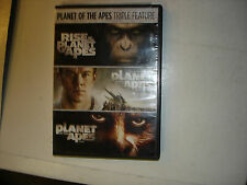 PLANET OF THE APES TRIPLE FEATURE (DVD, 3 DISC)