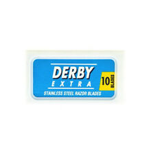10 DERBY EXTRA DOUBLE EDGE SAFETY RAZOR BLADES
