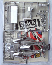 VV Mini 4WD MANTA RAY BLACK SPECIAL SILVER PLATED BODY PART SET (Tamiya 18521)