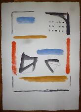 Rafols Casamada Alberto gravure abstraction art abstrait Rafols Casamada