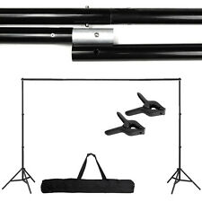 10Ft Adjustable Support Stand Photo Backdrop Crossbar Kit Photography SE