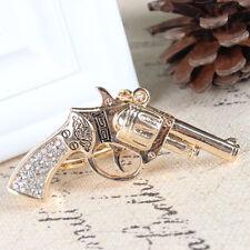 Pistol Gun Handgun New Pendant Crystal Purse Bag Key Ring Keychain Creative Gift