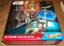 "STAR WARS ""TIE FIGHTER"" BLAST-OUT BATTLE - New In Box - Hot Wheels Die-Cast"