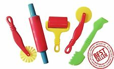 Play Dough Tools Play Set For Kids Set Of 5 Pastry Clay Pizza Doh Children Toys