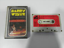 BARRY WHITE LET THE MUSIC PLAY CINTA TAPE CASSETTE 1976 20TH CENTURY 530132