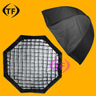 80cm Octagonal Flash Umbrella Softbox Reflector Speedlite with Honeycomb Grid