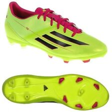 New Men's Adidas F10 TRX FG Soccer Cleats Lime Green Fuchsia Black 9.5 Sweet!
