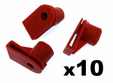 10x Opel Vauxhall Bumper to Wing Mounting Plastic Grommet Nut for Screws