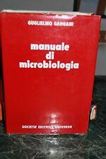 Libro Manuale di Microbiologia autore G. Gargani usato ben mantenuto