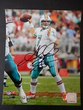 """Chad Henne Autographed 8"""" X 10"""" Photograph"""