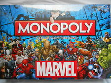 MARVEL UNIVERSE 2016 EDITION MONOPOLY BOARD GAME