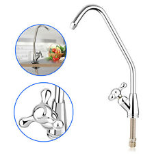 Water Filter Sink Faucet Reverse Osmosis Brushed Nickel Spray Mixer Swivel Tap