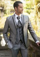 Mens Wedding Suits Groom Tuxedos Formal Business Suits Best Man Blazers Custom