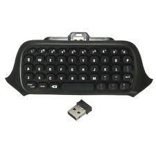 Mini 2.4G USB Wireless Chatpad Message Keyboard for Xbox One Controller Black