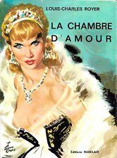 Louis-Charles Royer. LA CHAMBRE D'AMOUR DE CATHERINE II. Jaquette avec pin-up.