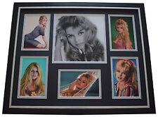 Brigitte Bardot SIGNED Framed Photo Autograph Huge display Film AFTAL & COA