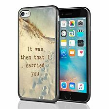 Footprints In Sand Poem Religious For Iphone 7 Case Cover By Atomic Market