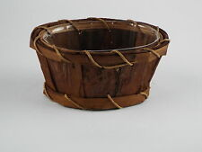 Great Small Bamboo Baskets  H-7cm   Set Of 4