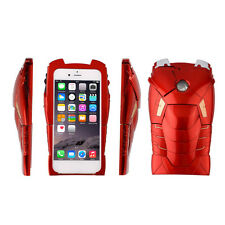 3D Marvel Ironman Hard Back Cover Case Call LED Light Up Case For iPhone 6 NEWFT