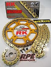 '97-98 Honda CBR600 F3 RK GXW Gold 520 QA SuperSprox Chain and Sprocket Kit
