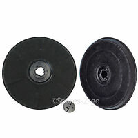 2 x EFF57 Type Carbon Charcoal Filter for INDESIT Cooker Hood Vent Extractor Fan