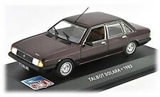 W77 Talbot Solara 1983 1/43 Scale Maroon New in Display Case