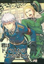 Hetalia Axis Powers Doujinshi Prussia x Germany Willst du ein Deutscher sein Iku