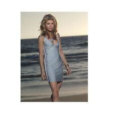 "NWT Authentic Herve Leger ""ADRIENNE"" M Runway Strappy Bandage Dress - $2,490"