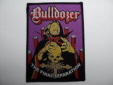 bulldozer the final separation  WOVEN  PATCH