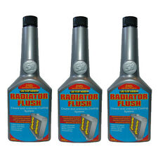 3 x RAD RADIATOR CAR COOLING SYSTEM FLUSH ADDITIVE - CLEANS REMOVES RUST SLUDGE