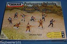Gli EMHAR 7217 LA FANTERIA NAPOLEONICO portoghese & CACADORES-Guerra d'indipendenza spagnola. 1:72