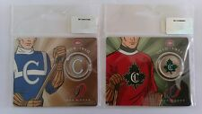 Montreal Canadiens Collector (5 of 6 & 6 of 6) Centennial 50 ¢ Cent Coin !