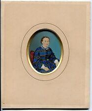 Femme Portrait Papier salé peint - 1855 -