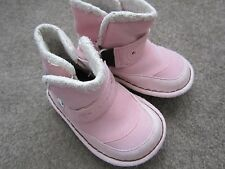 CROCS BABY TODDLER GIRL FAUX FUR LINED BOOTS Sz C6 PINK~~Ships FREE~~CUTE~~