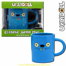 Uglydoll Ceramic 18 Ounce Jumbo Mug Tutulu  Coffee  Ugly Doll Blue