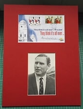 Westminster Autographed Editions Signed FDC Kenneth Wolstenholme 1966 WORLD CUP