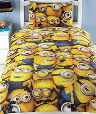 Despicable Me MINIONS Single Duvet Cover Bedding Set Sea of Minions New Gift