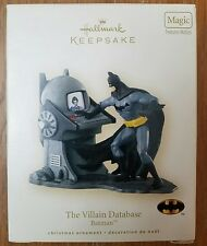 2007 Hallmark Keepsake Batman Ornament Magic Motion The Villain Database NIB