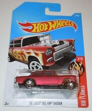 55 Chevy Bel Air Gasser Hot Wheels Factory ERROR MISPRINT NEW Sealed NO TAMPO